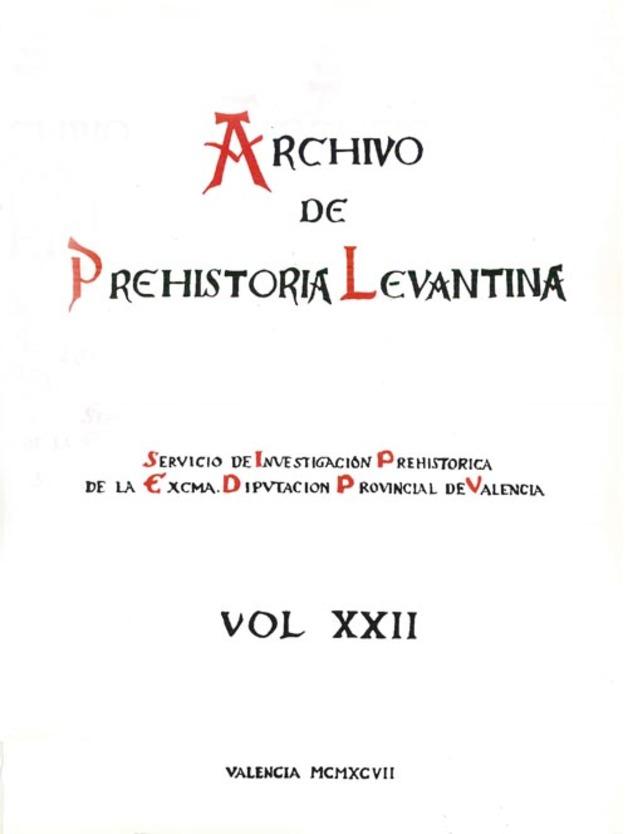 967338952 Archivo de Prehistoria Levantina XXII